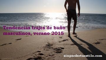 trendencias trajes baño hombre verano 2015