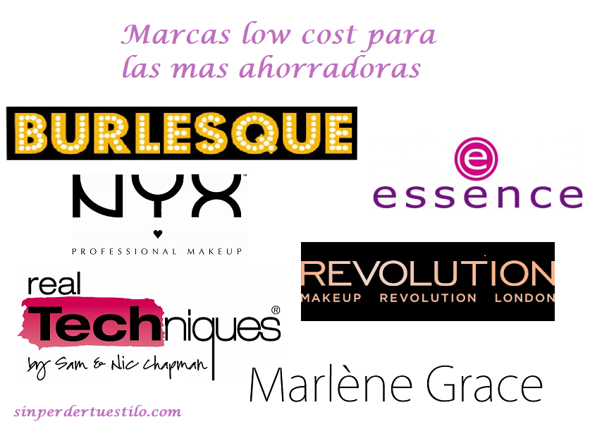 marcas low cost maquillaje