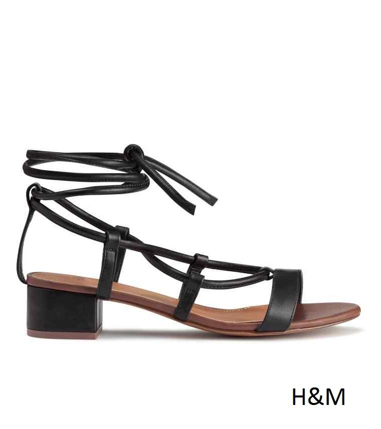 h&m sandalias tiras
