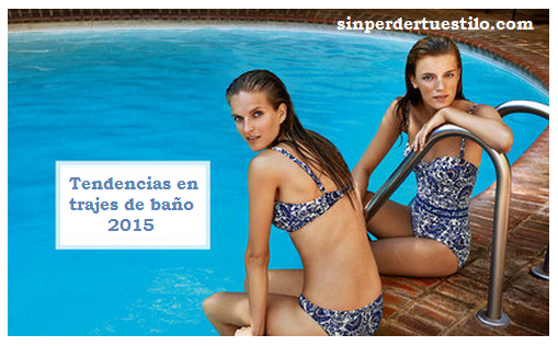 Tendencias trajes de baño hombre, verano 2015.